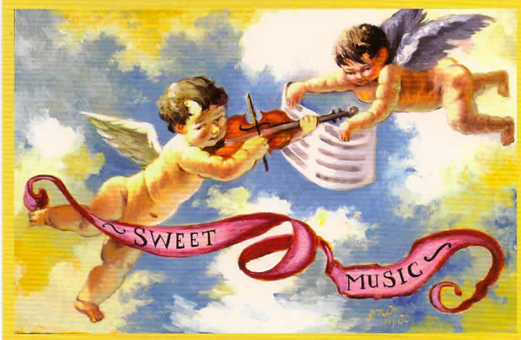 Sweet Music Card Front